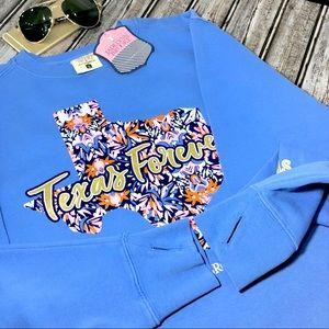Tops - Jadelynn Brooke Oversized Sweatshirt Texas Forever